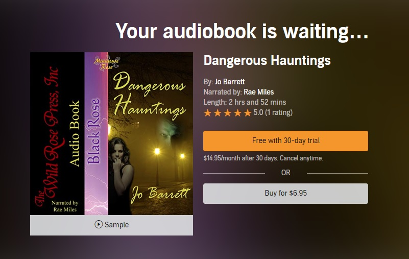 Audible page